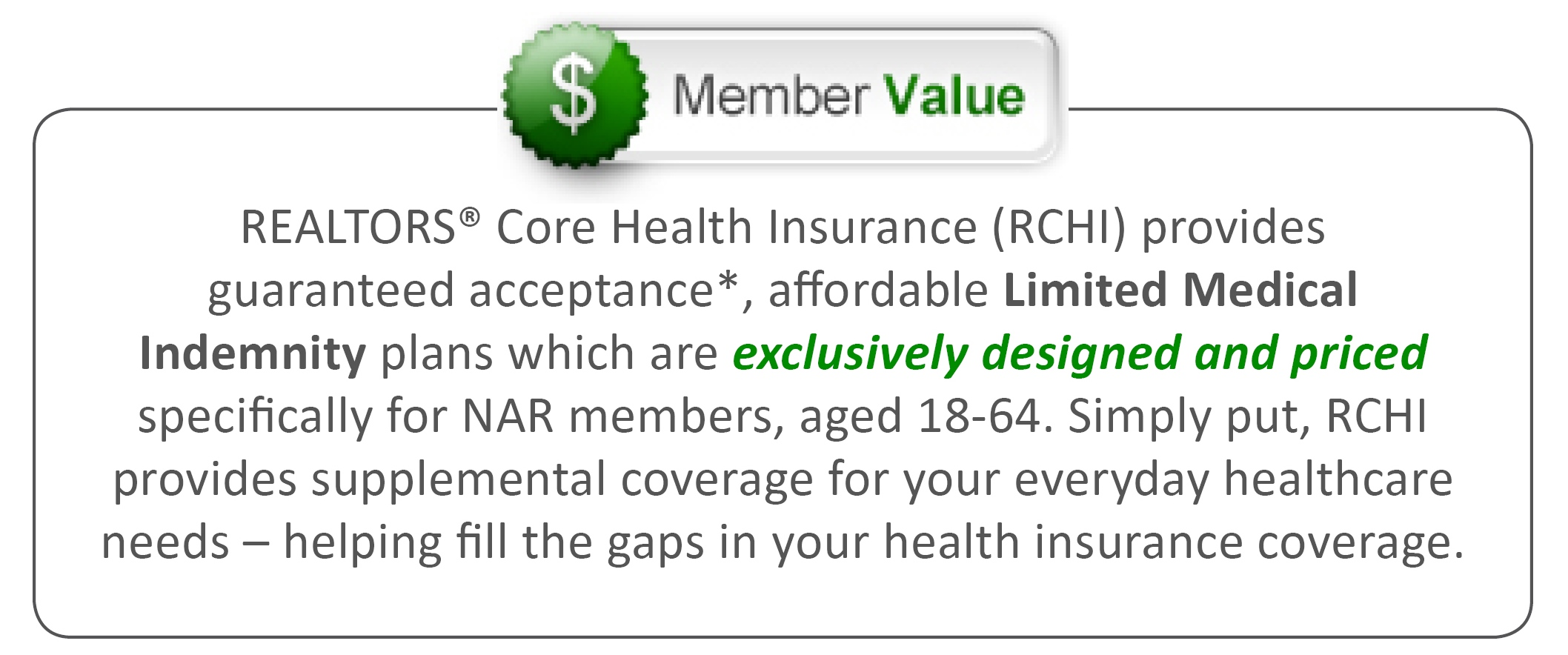 Member Value RCHI