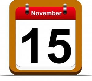 Open Enrollment Begins November 15, 2014